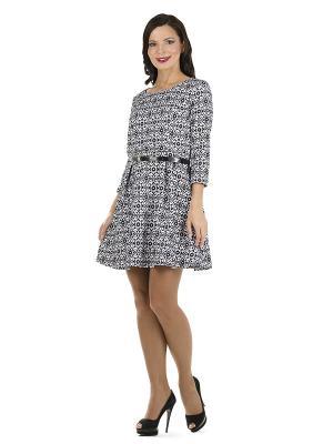 Платье PROFITO AVANTAGE. Цвет: белый, черный