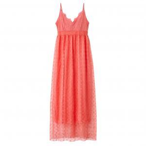 Платье длинное с тонкими бретелями MOLLY BRACKEN. Цвет: коралловый,хаки