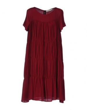 Короткое платье TROU AUX BICHES. Цвет: красно-коричневый