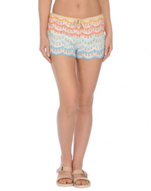 Пляжные брюки и шорты AGOGOA. Цвет: слоновая кость