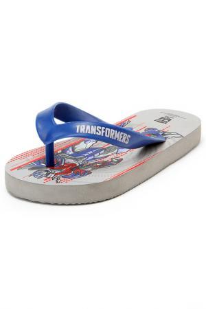Туфли купальные Transformers. Цвет: серый