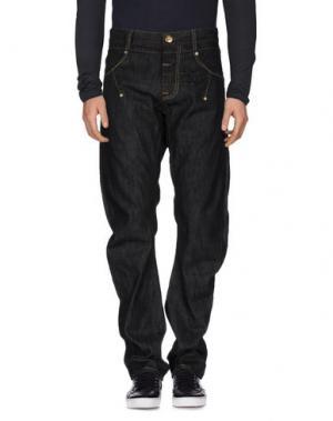 Джинсовые брюки LE JEAN DE MARITHÉ + FRANÇOIS GIRBAUD. Цвет: стальной серый