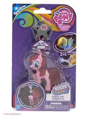 Игрушка Мой маленький Пони - брелок-фонарик Hasbro. Цвет: розовый