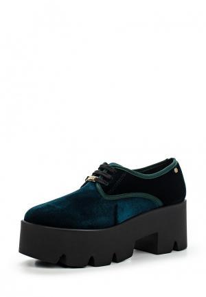 Ботинки Cuple. Цвет: зеленый