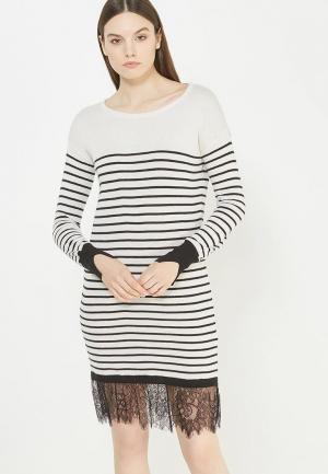Платье Liu Jo Jeans. Цвет: черно-белый