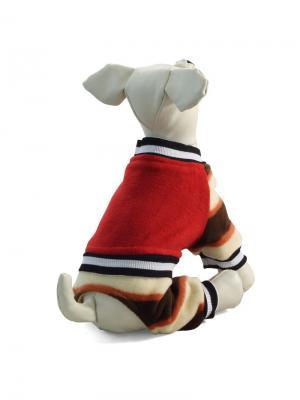 Костюм  для животных (демисезонный) TRIOL. Цвет: красный