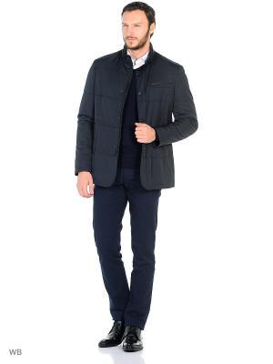 Куртка Valenti. Цвет: синий