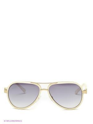 Солнцезащитные очки Borsalino. Цвет: молочный