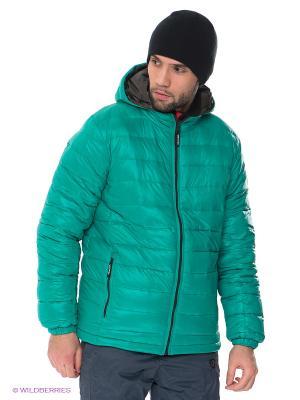 Куртка IGUANA. Цвет: светло-зеленый