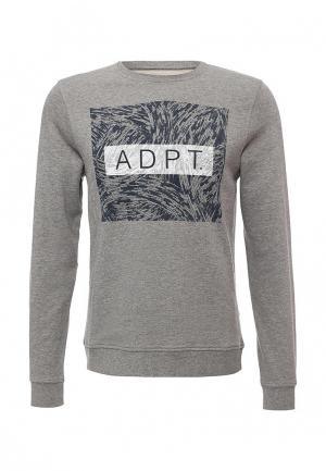 Свитшот ADPT. Цвет: серый