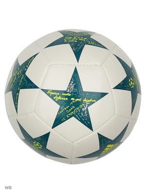 Мяч подарочный FINALE16 MINI  WHITE/VAPSTE/TECGRN Adidas. Цвет: белый, желтый, зеленый