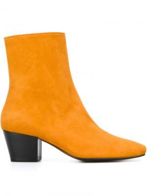 Ботинки Droop Nose Dorateymur. Цвет: жёлтый и оранжевый