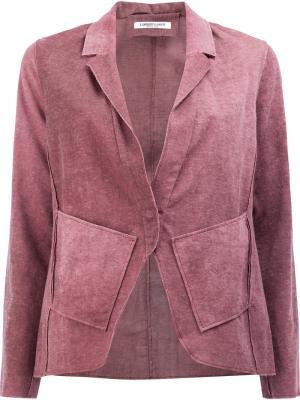 Пиджак с эффектом омбре Lamberto Losani. Цвет: розовый и фиолетовый