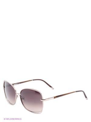 Солнцезащитные очки BLD 1419 101 Baldinini. Цвет: коричневый, золотистый