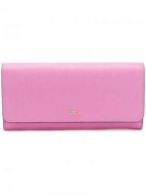 Кошелек Babylon XL Furla. Цвет: розовый и фиолетовый