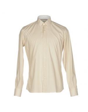 Pубашка DOMENICO TAGLIENTE. Цвет: бежевый