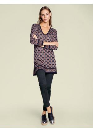 Удлиненный пуловер RICK CARDONA by Heine. Цвет: цветной