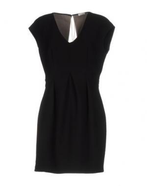 Короткое платье GOLD CASE. Цвет: черный