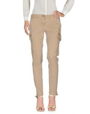 Повседневные брюки BLAUER. Цвет: верблюжий