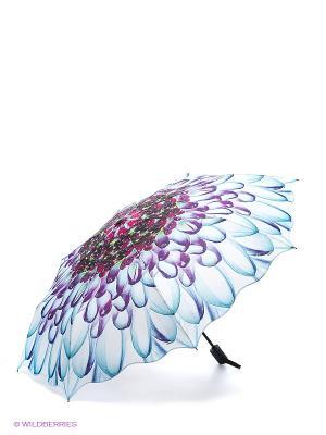 Зонт RAINDROPS. Цвет: голубой, фиолетовый