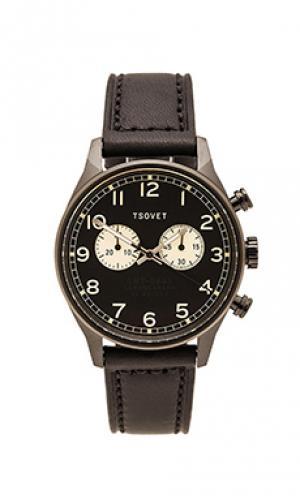 Часы svt-de40 Tsovet. Цвет: черный