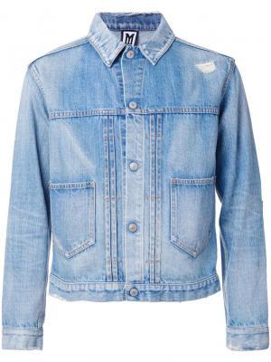Классическая джинсовая куртка Myne. Цвет: синий