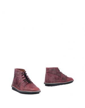 Полусапоги и высокие ботинки LEREWS. Цвет: пурпурный