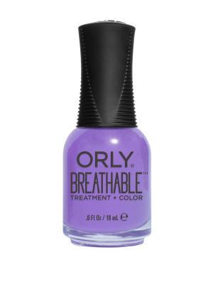 Профессиональный дышащий уход(цвет) за ногтями 920 FEELING FREE ORLY. Цвет: фиолетовый
