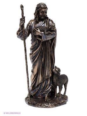 Статуэтка Пастух Veronese. Цвет: серо-зеленый