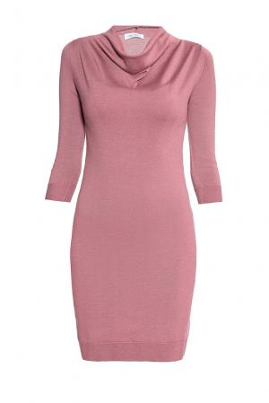 Платье из шерсти 172947 Andre Maurice. Цвет: розовый