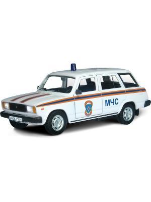 Машина LADA 2104 МЧС AUTOTIME. Цвет: белый