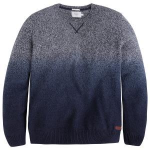 Пуловер с круглым вырезом из тонкого трикотажа PEPE JEANS. Цвет: синий индиго