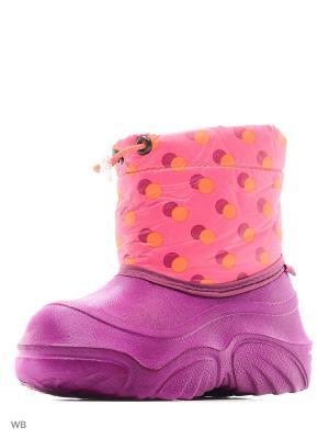 Сноубутсы BRIS. Цвет: розовый