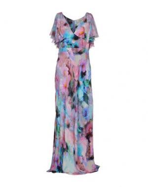 Длинное платье GAI MATTIOLO. Цвет: розовый