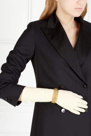 Перчатки винтажные (60е) Christian Dior Vintage. Цвет: белый