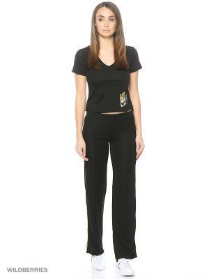 Спортивный костюм Bars. Цвет: черный