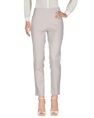 Повседневные брюки PAOLA ROSSINI. Цвет: серый