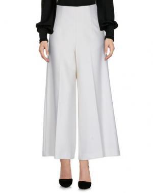 Повседневные брюки MALO. Цвет: слоновая кость