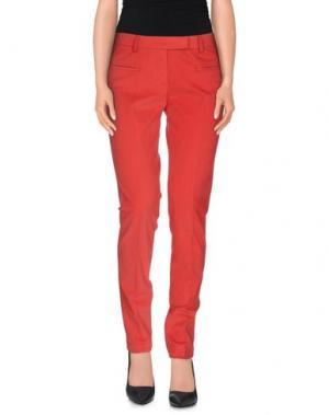 Повседневные брюки FABERGE&ROCHES. Цвет: красный