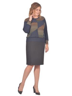 Кофточка Томилочка Мода ТМ. Цвет: синий, зеленый