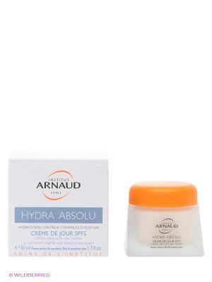 Крем для лица дневной Абсолютное увлажнение сухой и чувствительной кожи SPF5, 50мл ARNAUD. Цвет: белый, синий