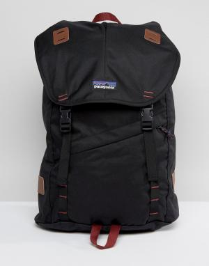 Patagonia Черный рюкзак Arbor. Цвет: черный