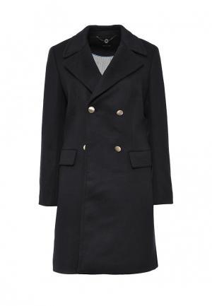 Пальто Pennyblack. Цвет: синий