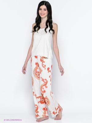 Комплект PENYE MOOD. Цвет: белый, оранжевый