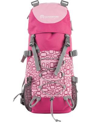 Рюкзак OUTVENTURE. Цвет: розовый