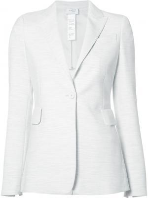 Блейзер с накладными карманами Akris Punto. Цвет: белый