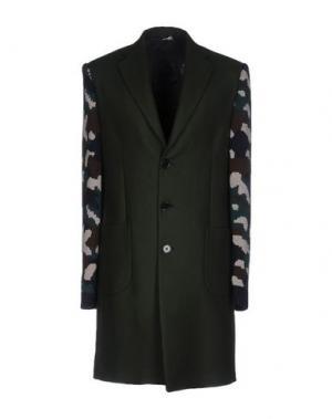Пальто LC23. Цвет: зеленый-милитари
