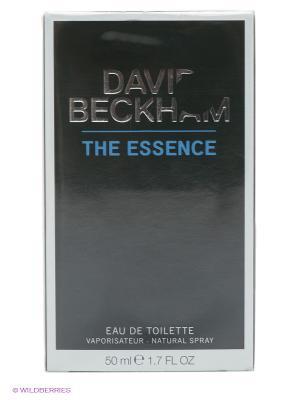 Туалетная вода Beckham The Essence, 50 мл DAVID. Цвет: прозрачный