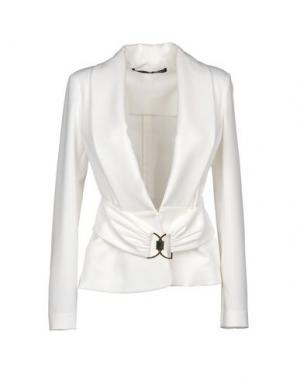 Пиджак ANNARITA N.. Цвет: белый