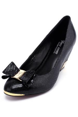 Туфли Vensi. Цвет: черный